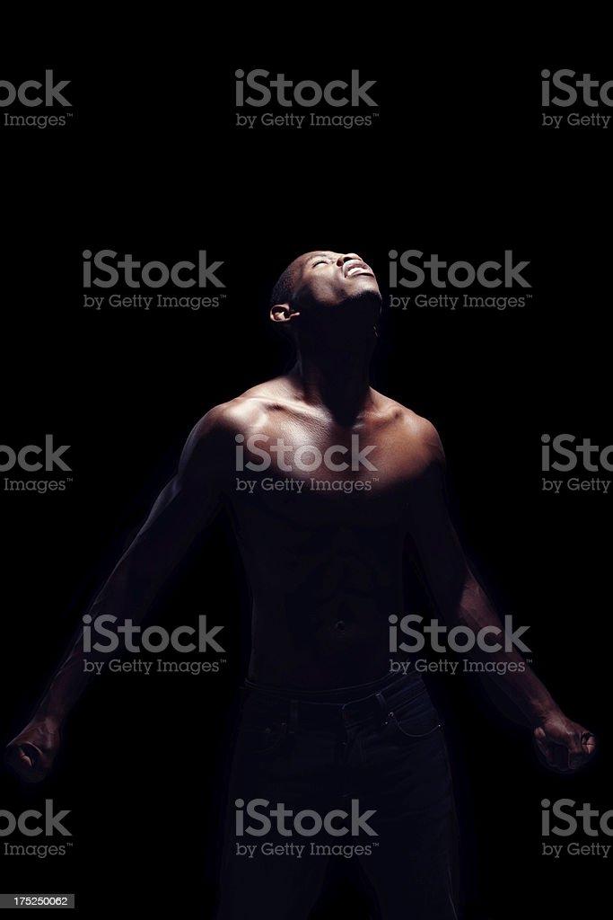 Trying to make sense of his world royalty-free stock photo