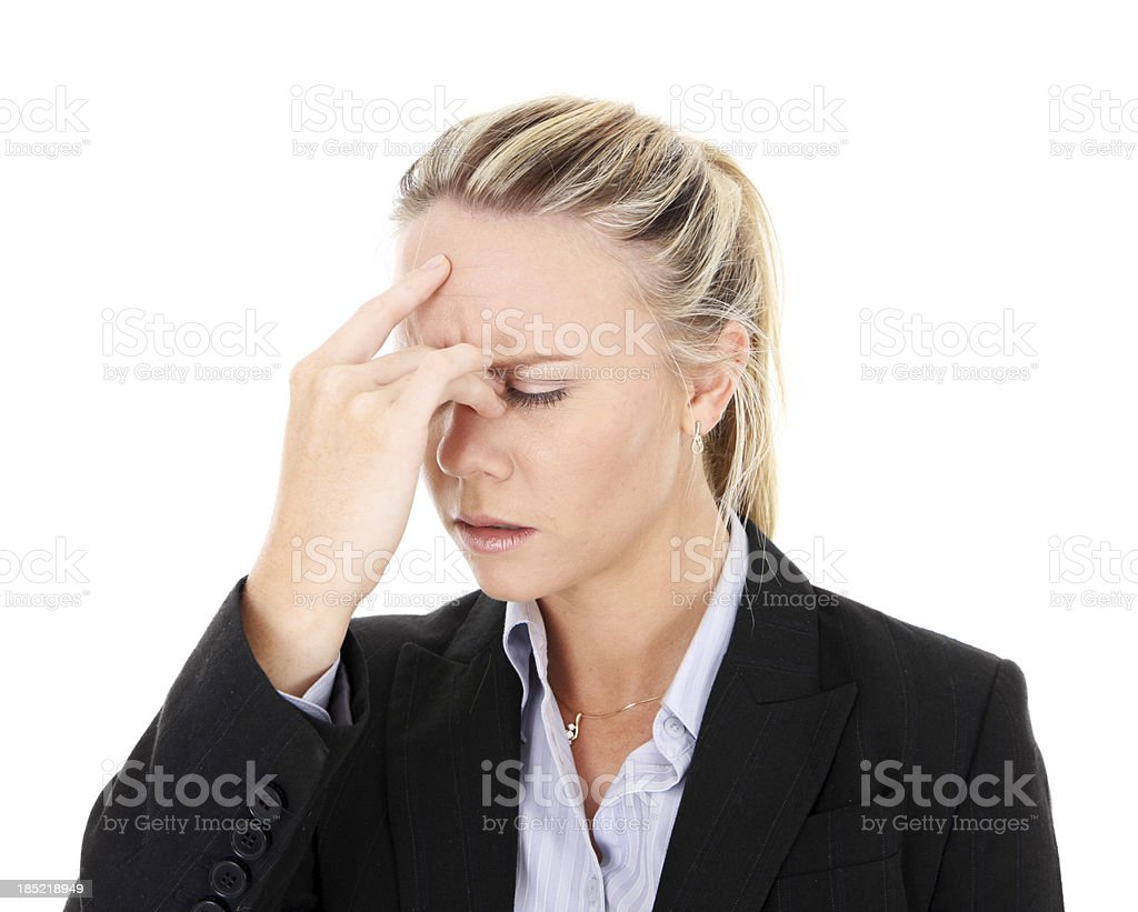 Trying to Remember stock photo