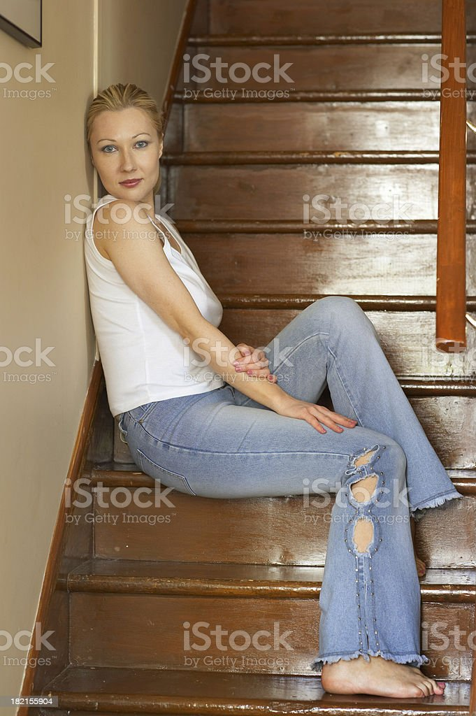 Ts and jeans royalty-free stock photo