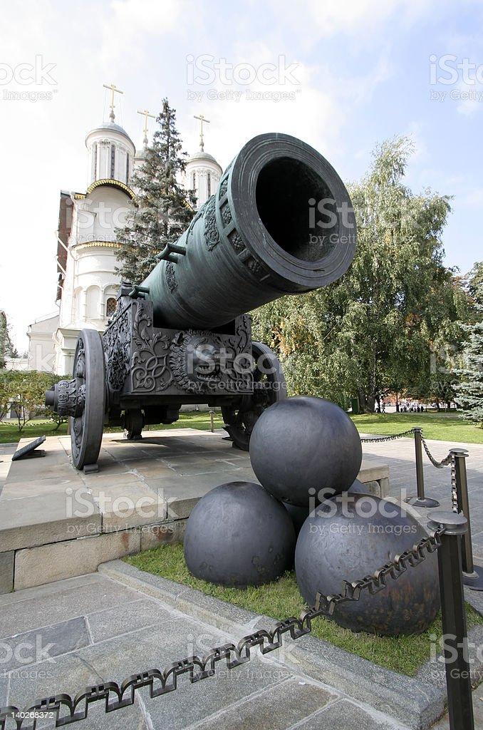 Tsar Cannon royalty-free stock photo