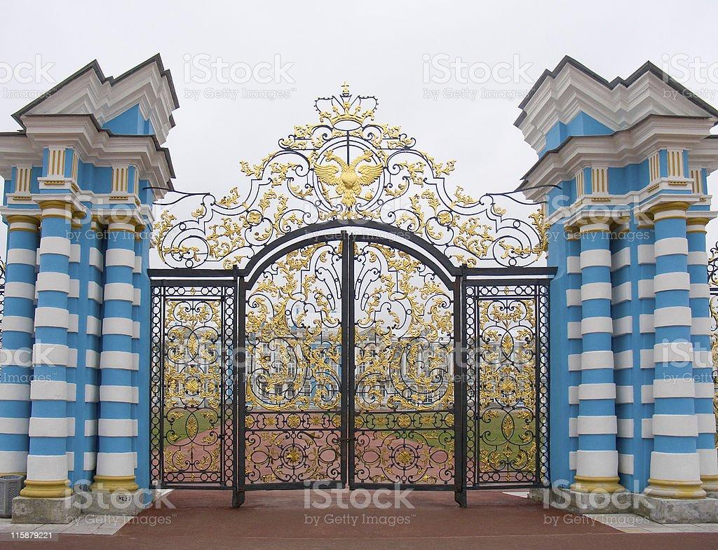 Tsar's gold stock photo