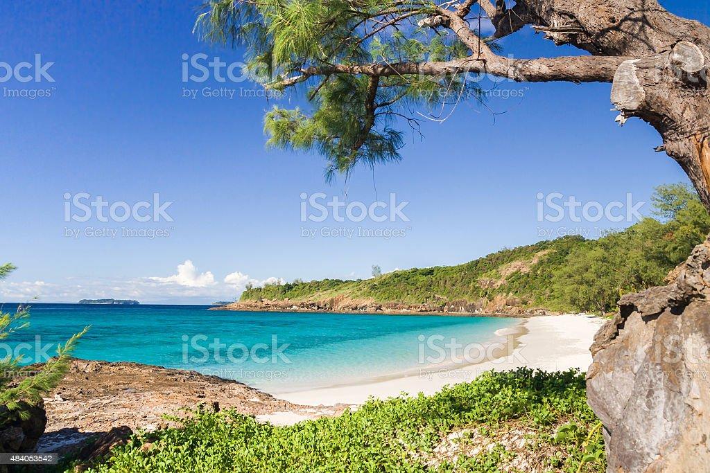 Tsarabanjina island stock photo