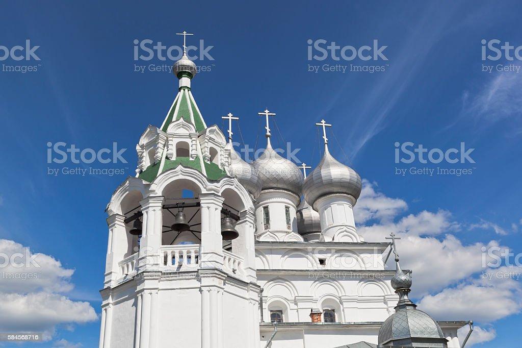Tsarekonstantinovsky church in the city of Vologda, Russia stock photo