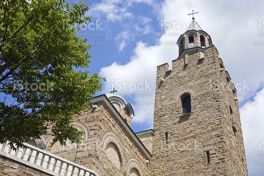 Tsarevets Fortress In Veliko Tarnovo, Bulgaria royalty-free stock photo