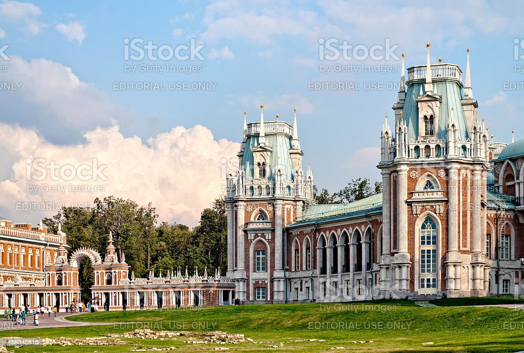 Tsaritsino royalty-free stock photo