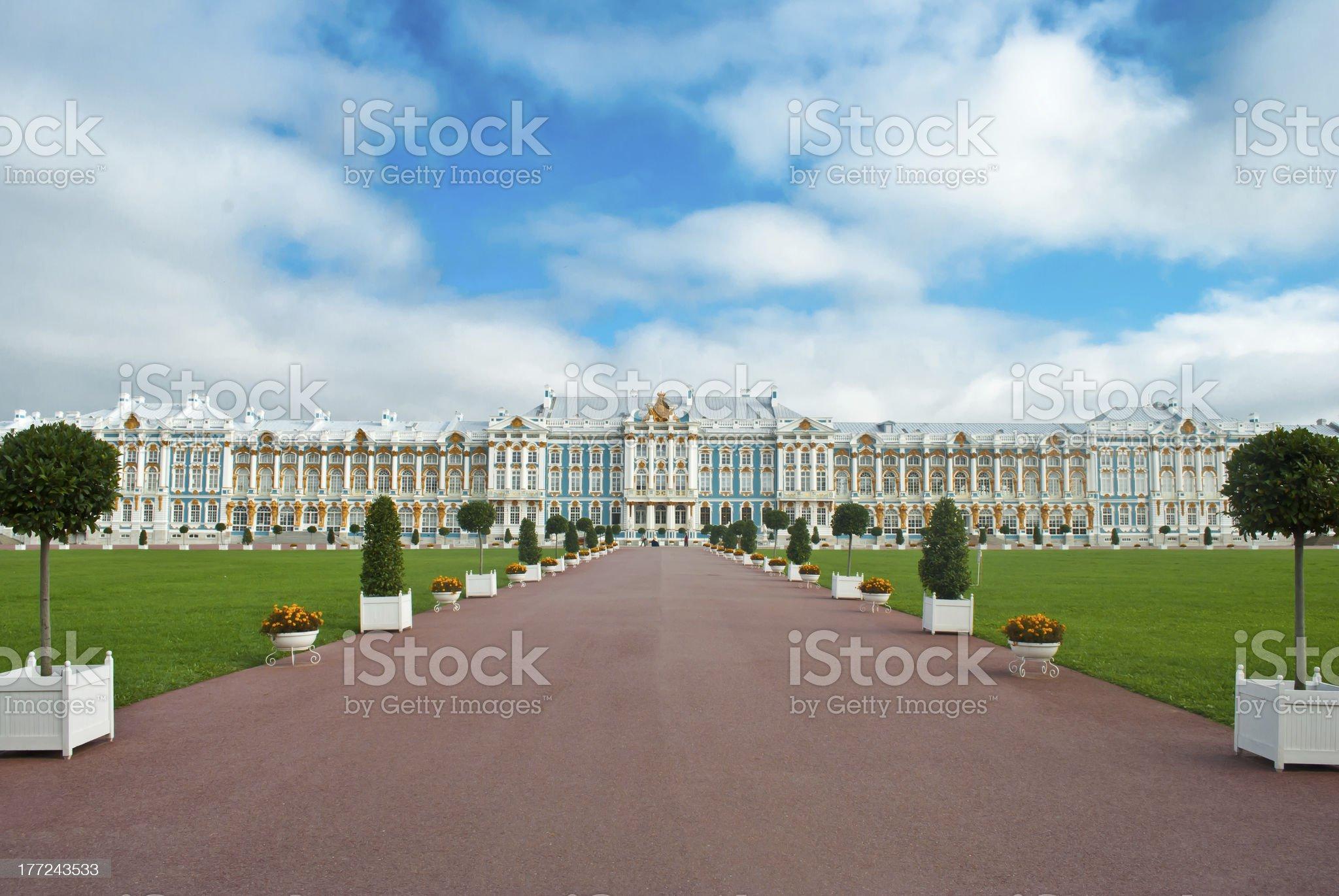 Tsarskoye selo royalty-free stock photo