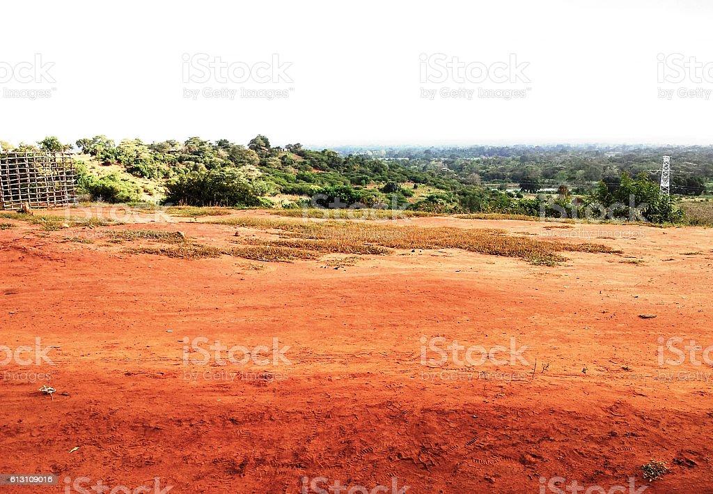 Savana dello Tsavo stock photo