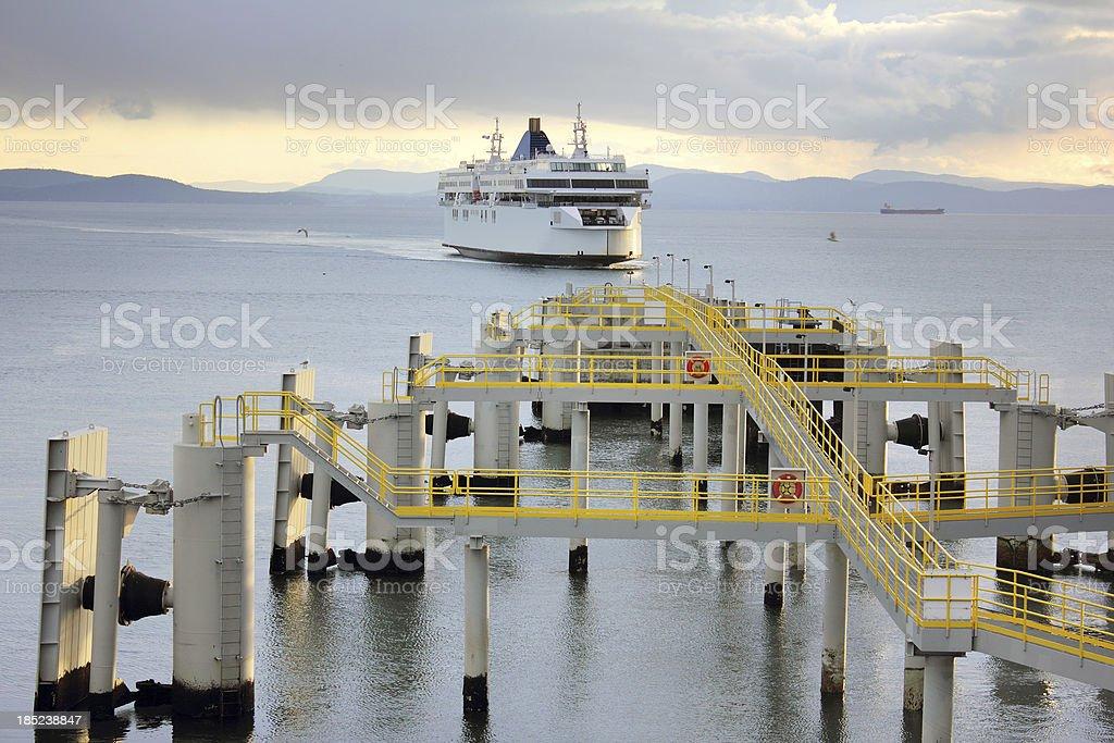 Tsawwassen Ferry Terminal stock photo