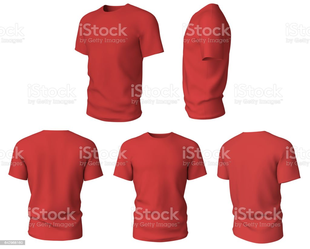 T-shirt design template isolated stock photo