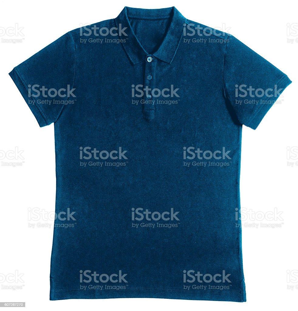 T-shirt polo stock photo