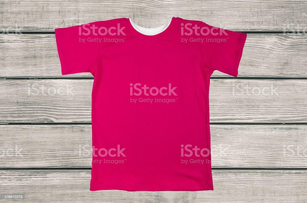T-Shirt, Red, Shirt stock photo