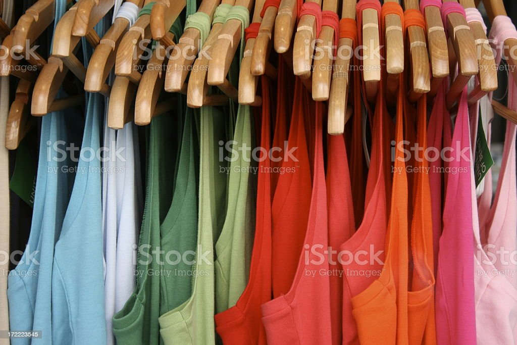 t-shirts royalty-free stock photo
