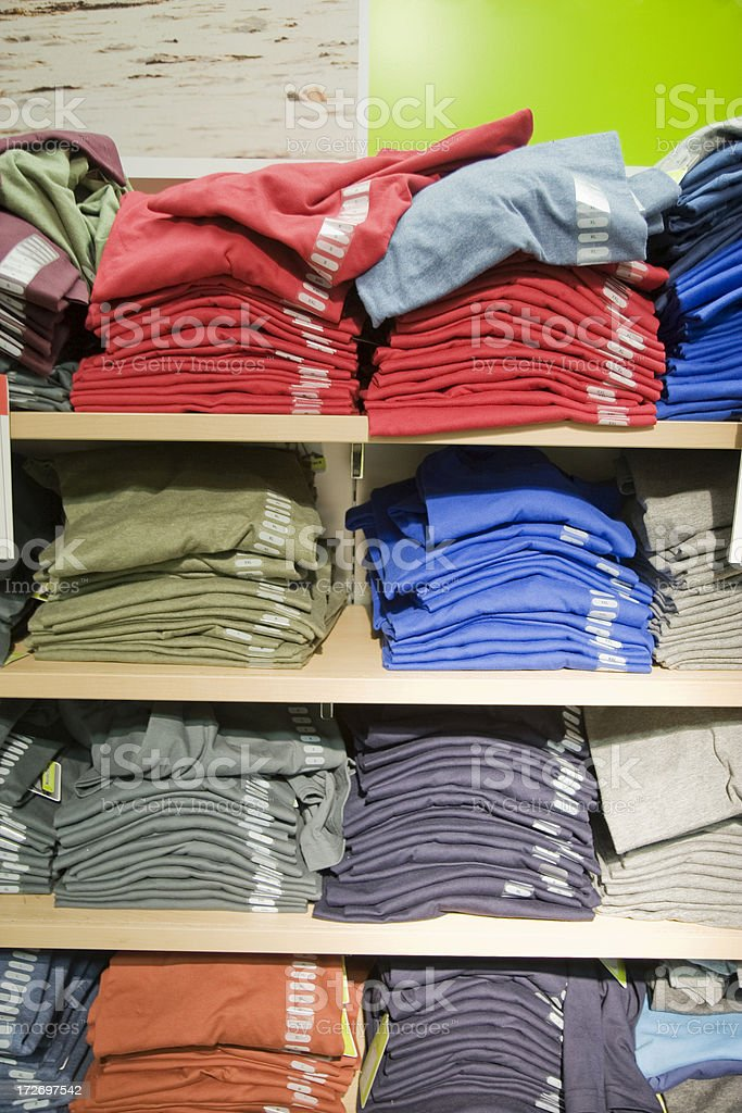 T-Shirts royalty-free stock photo
