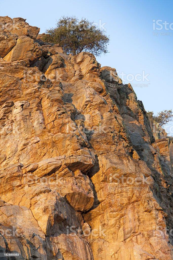 Tsodilo Hills, Botswana royalty-free stock photo