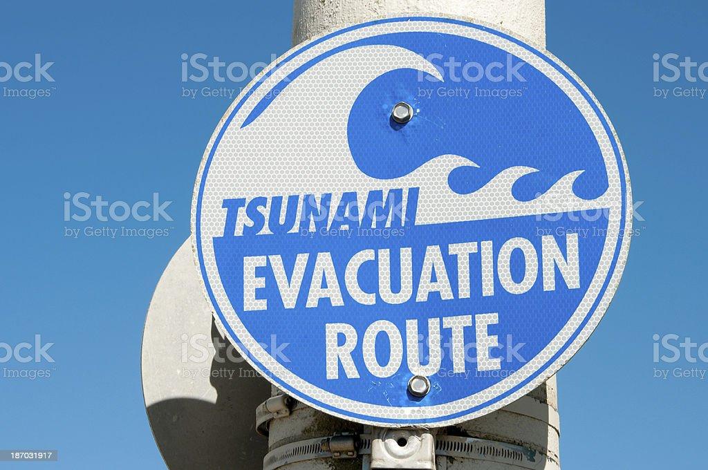 Tsunami royalty-free stock photo