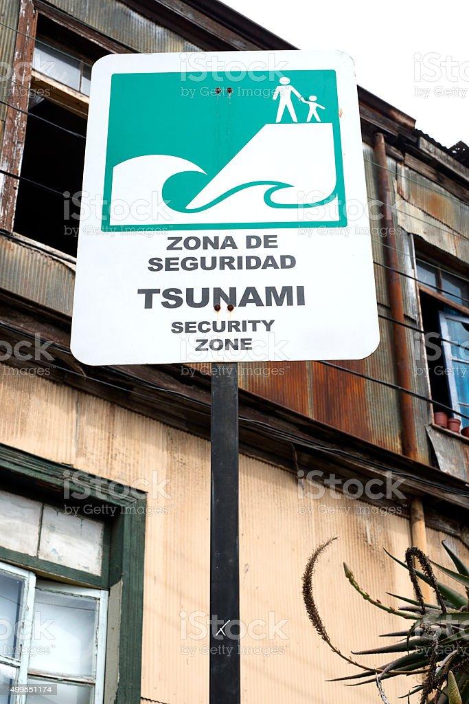 Tsunami stock photo