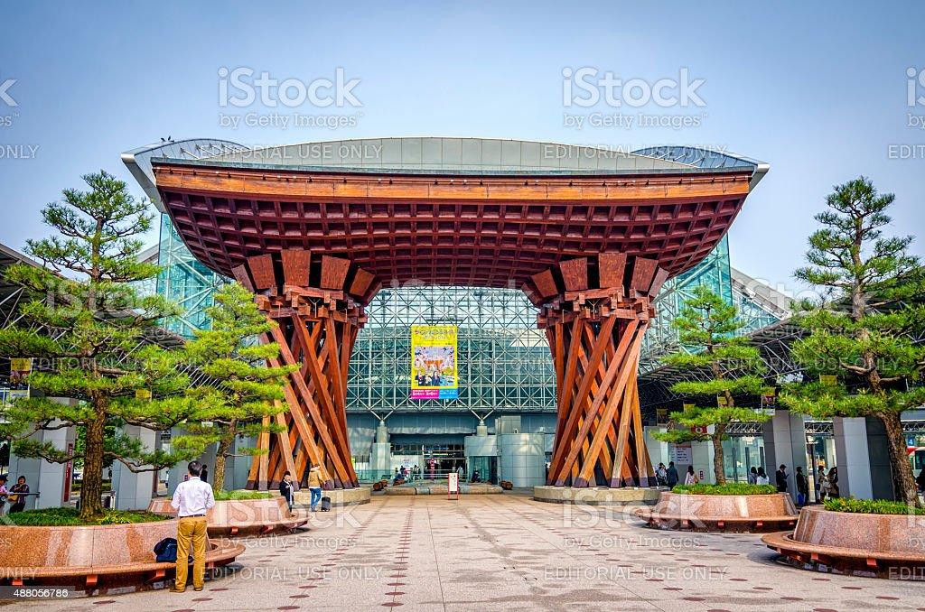 Tsuzumimon gate - Kanazawa , Japan royalty-free stock photo