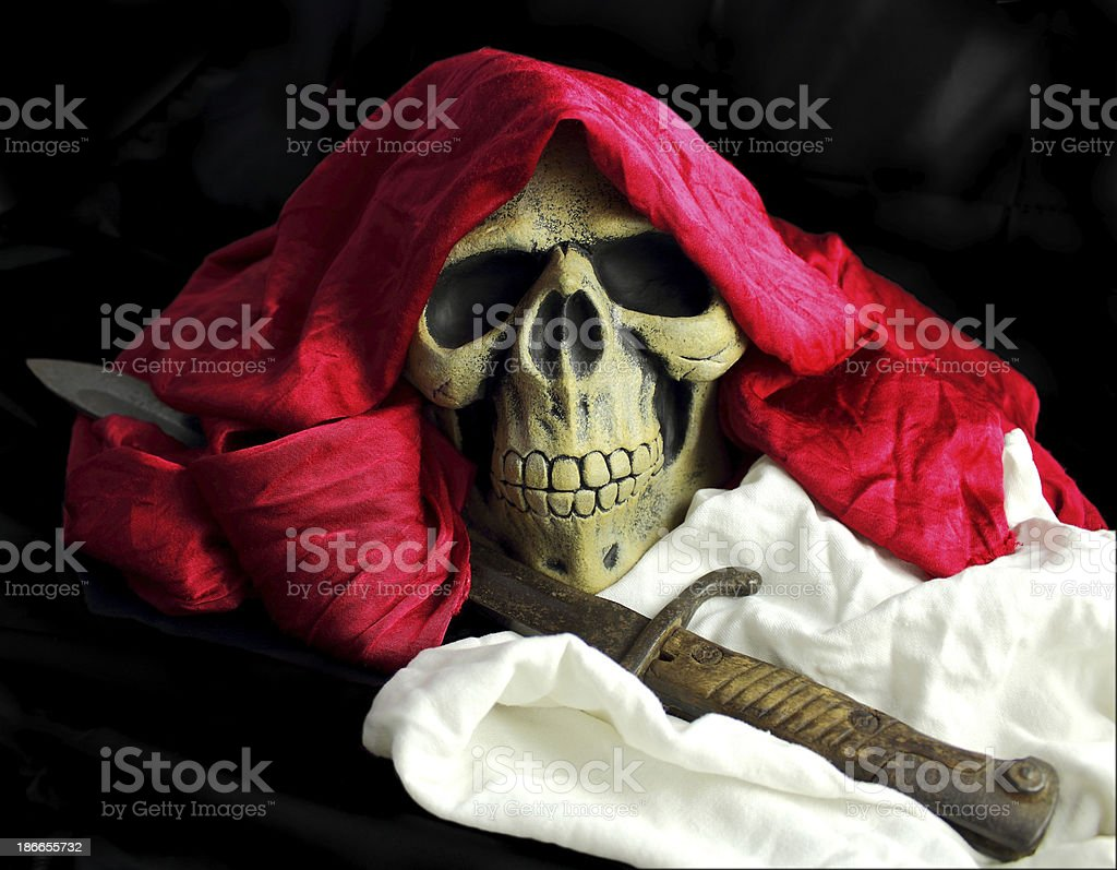 tte de mort drape pirate halloween royalty free stock photo - Tte De Mort Pirate
