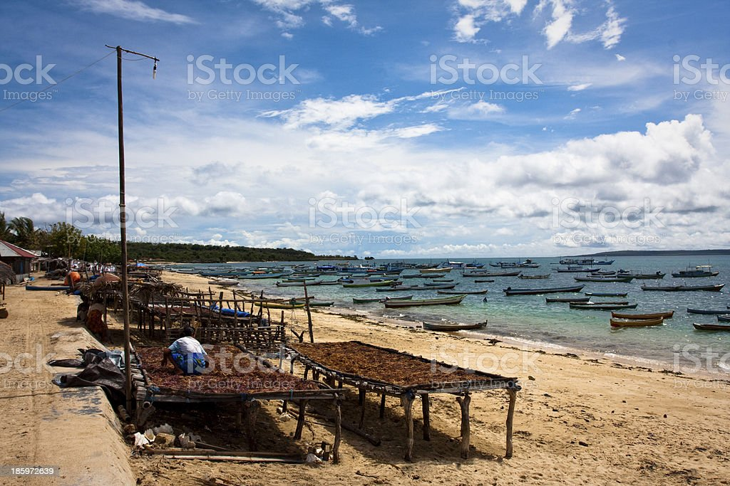 Tuadale Beach. stock photo