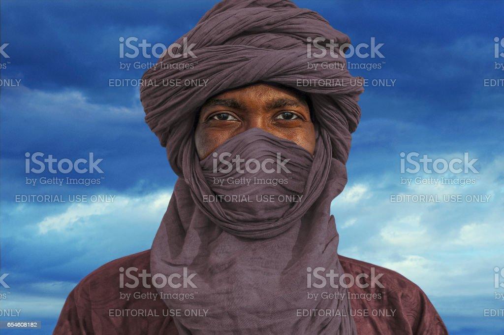 Tuareg stock photo