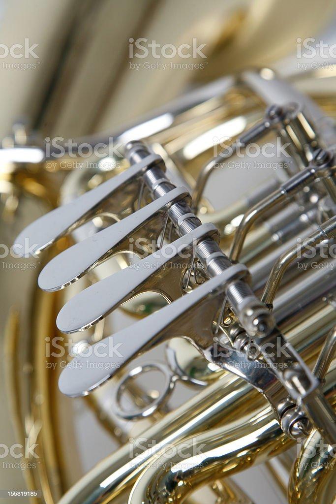 tuba im detail royalty-free stock photo