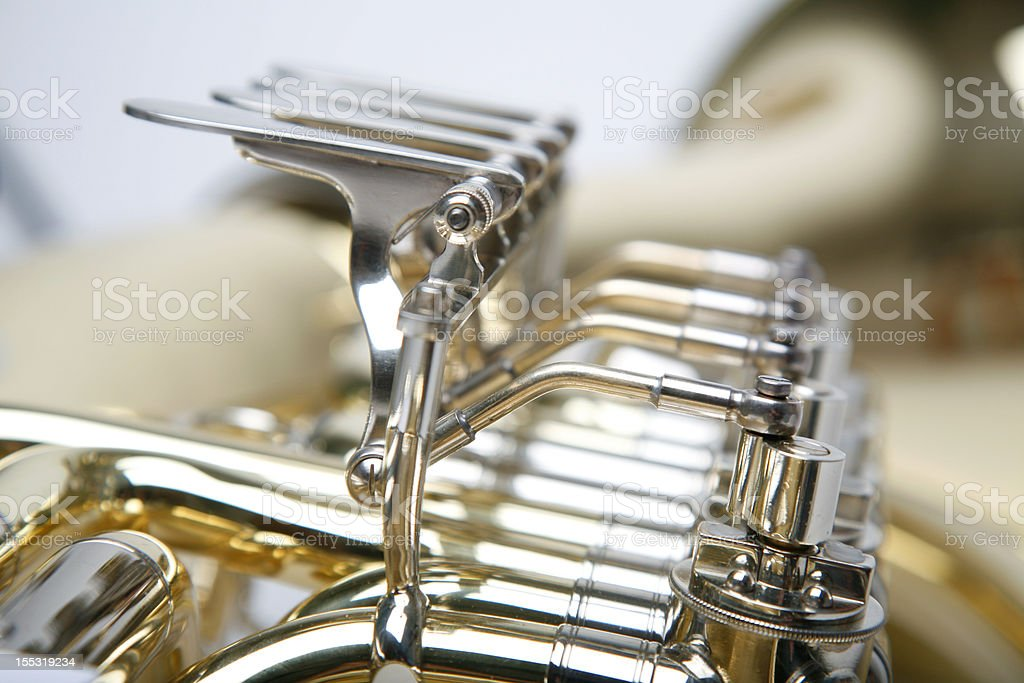 tuba im detail royalty-free stock photo