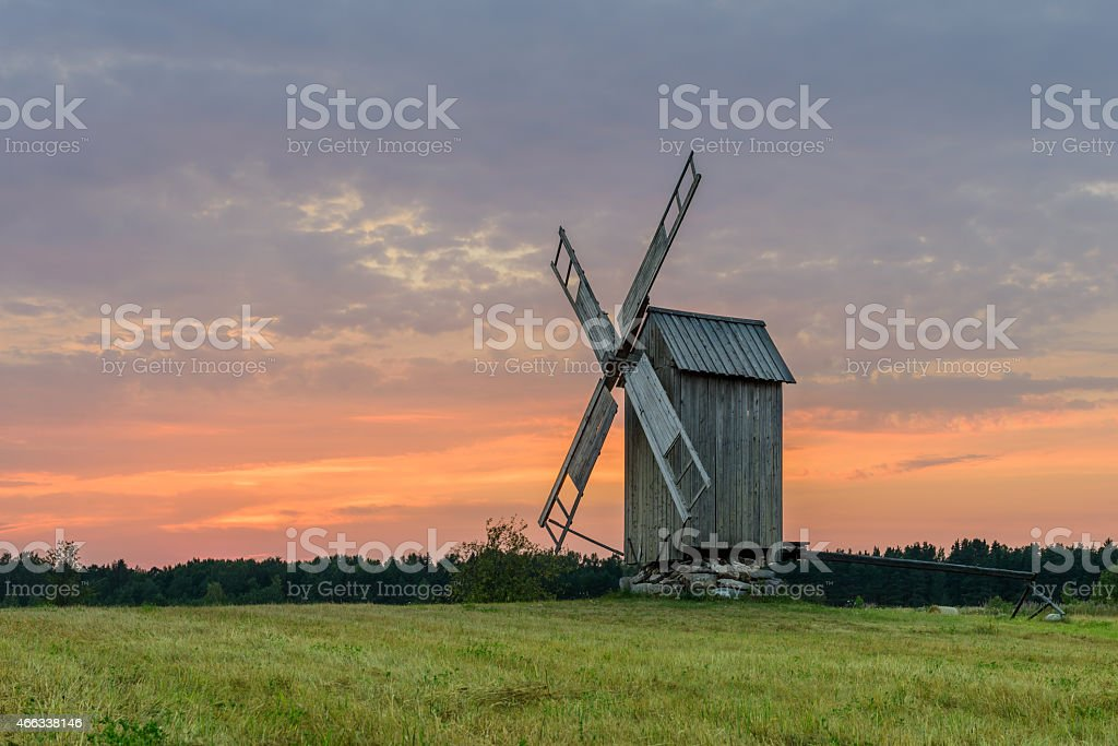 Tubala Windmill stock photo