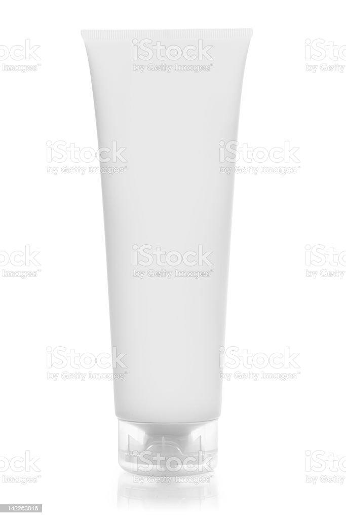 Tube for cosmetics royalty-free stock photo