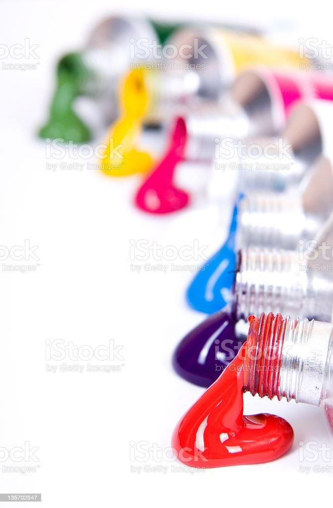 tube of paint royalty-free stock photo