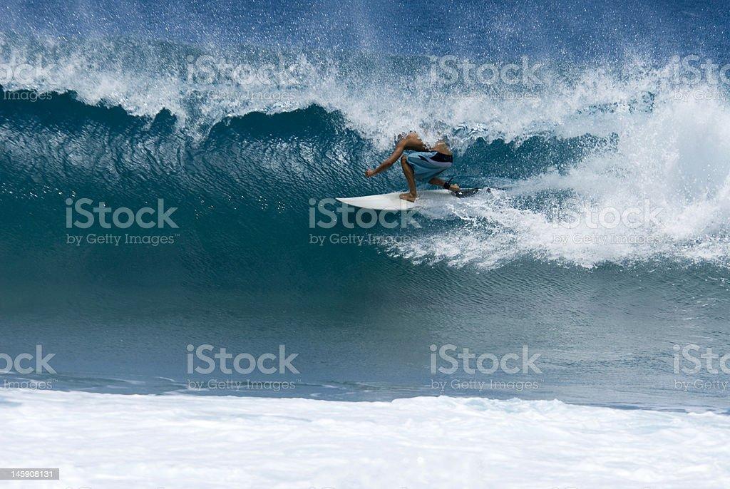tube surfer royalty-free stock photo