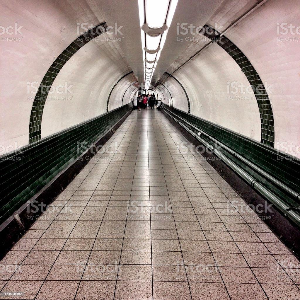Tube Tunnel royalty-free stock photo