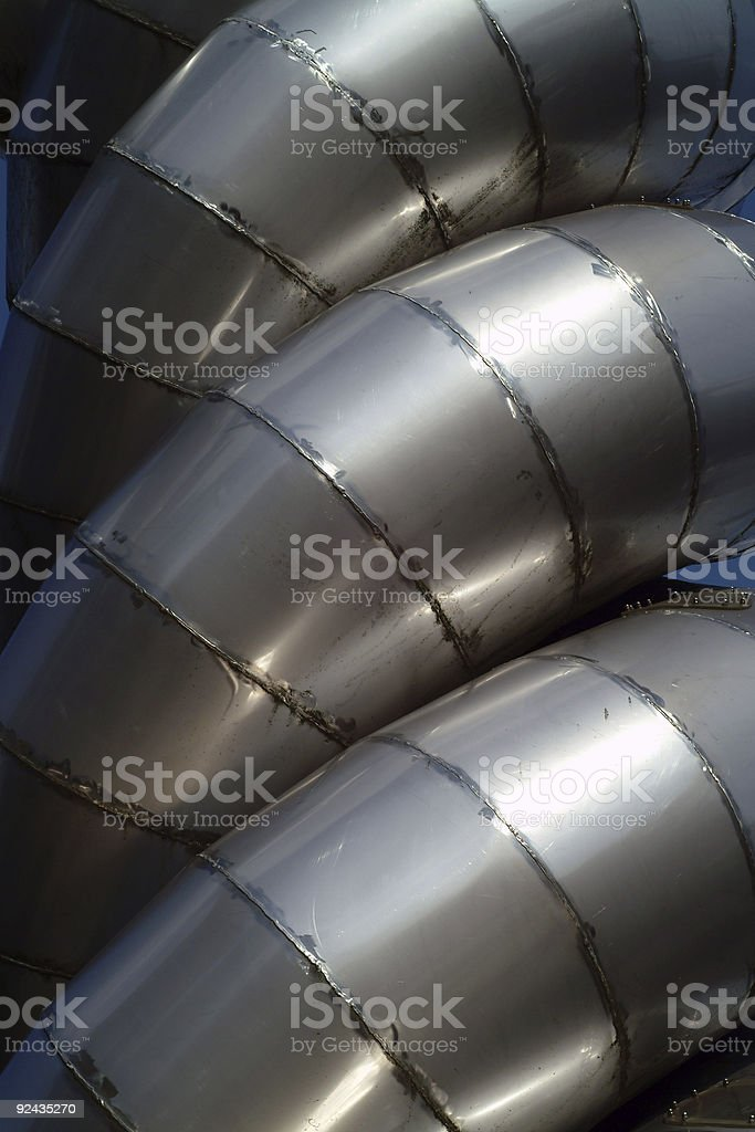 Tubes royalty-free stock photo
