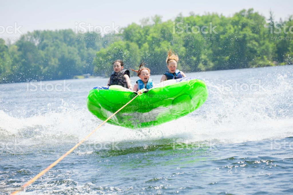 Tubing stock photo