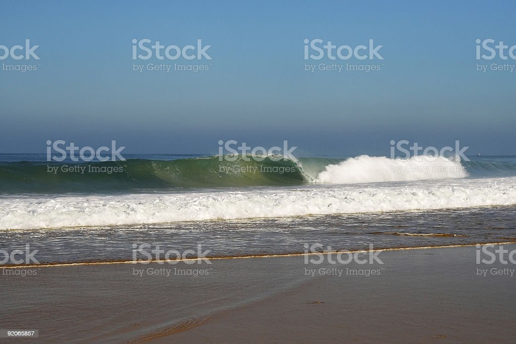 Tubular Wave stock photo