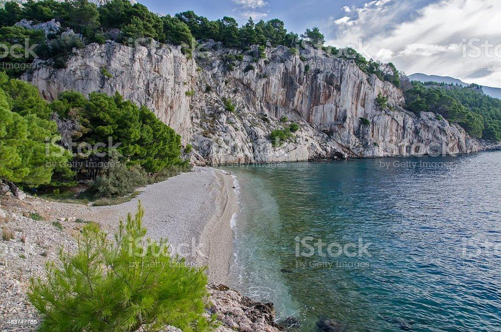 Tucepi, Croatia stock photo