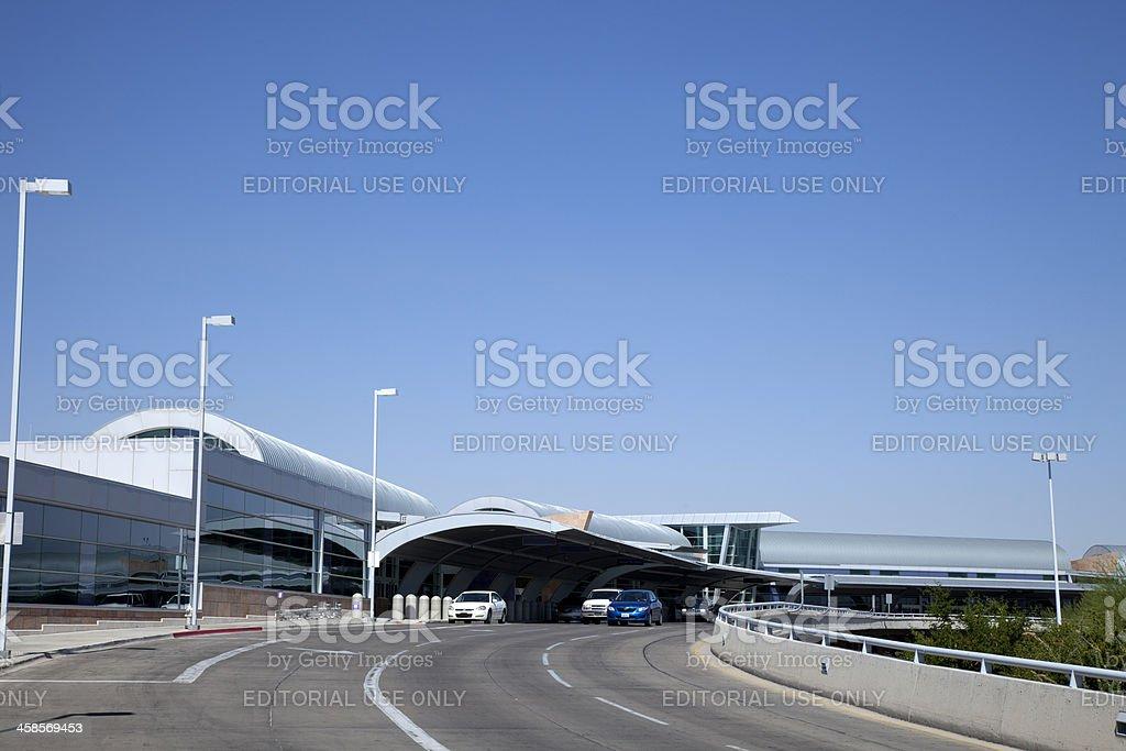 Tucson Airport stock photo