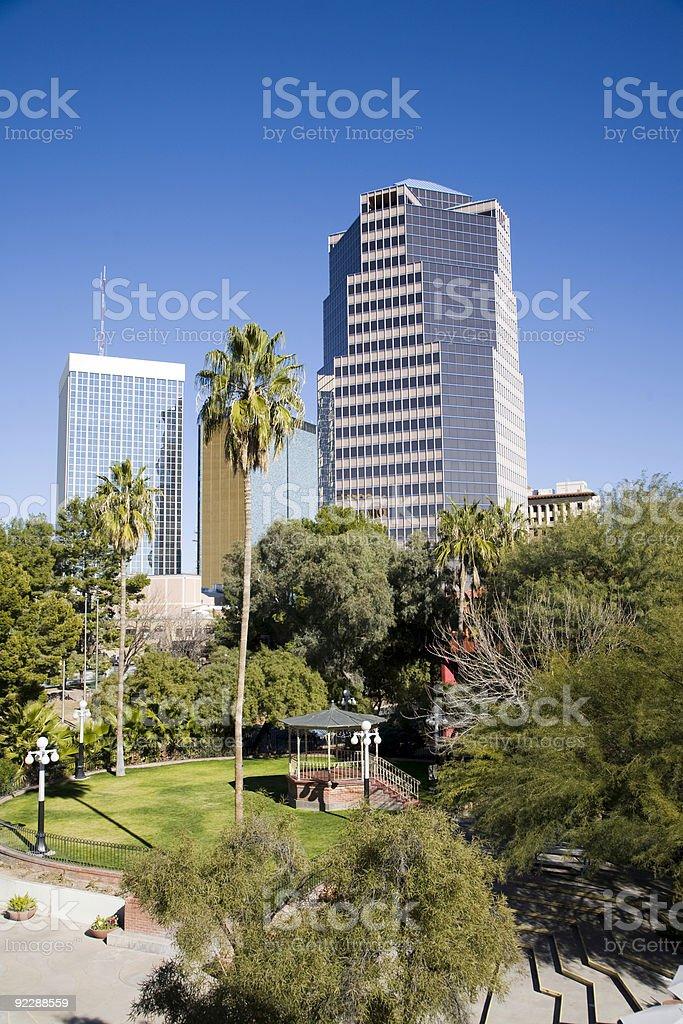 Tucson cityscape royalty-free stock photo