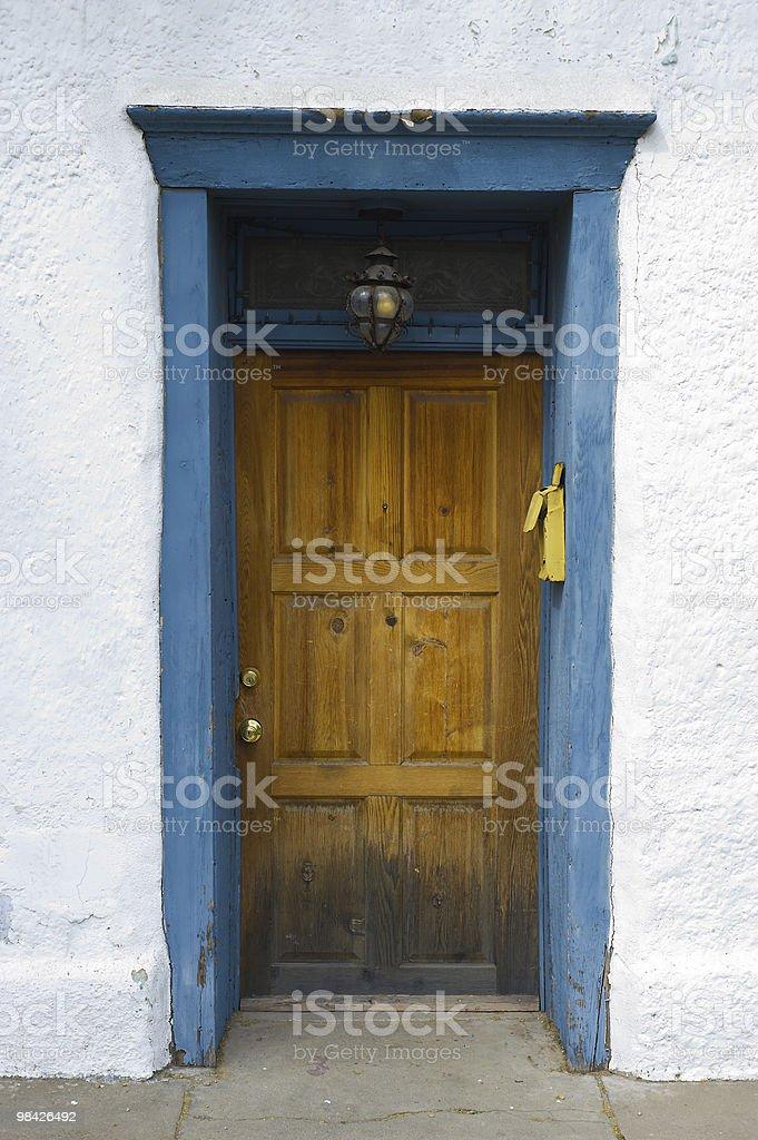 Tucson Doorway royalty-free stock photo