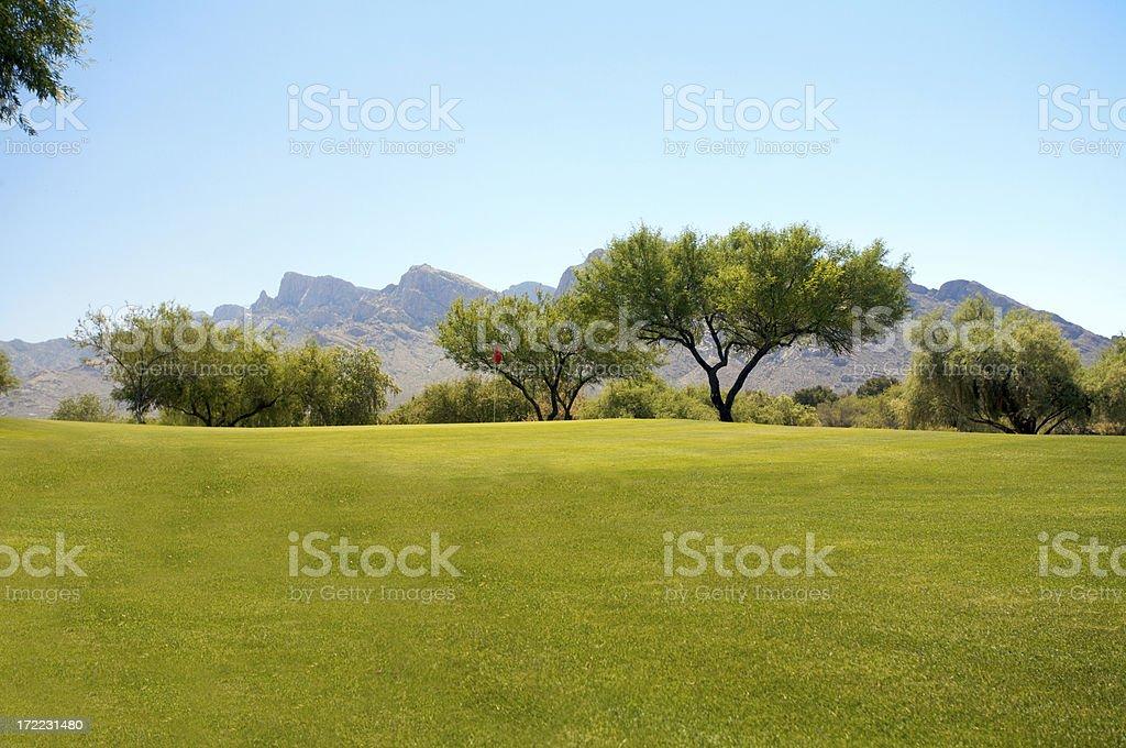 Tucson Golf 3 foto stock royalty-free
