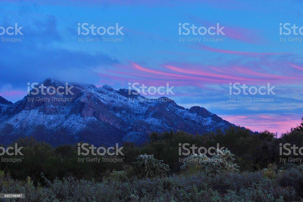 Tucson Winter stock photo