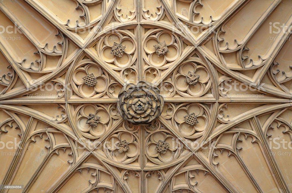 Tudor Ceiling stock photo
