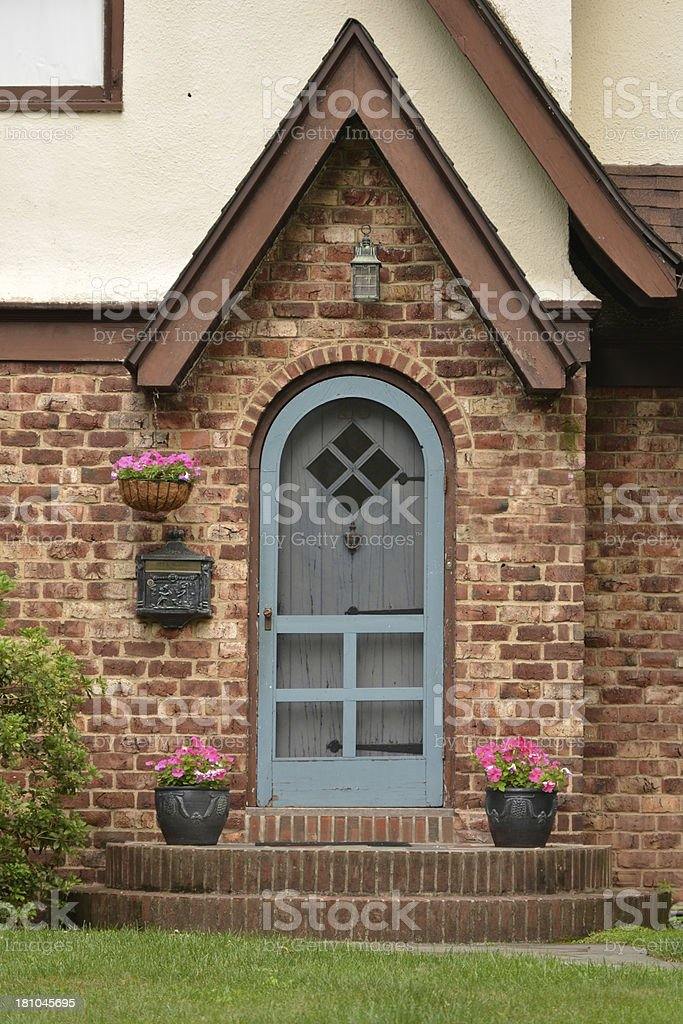 Tudor Home royalty-free stock photo