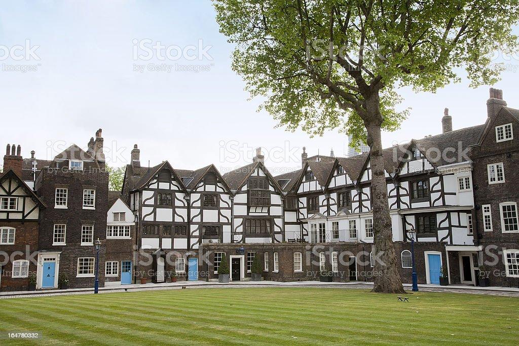 Tudor Homes royalty-free stock photo