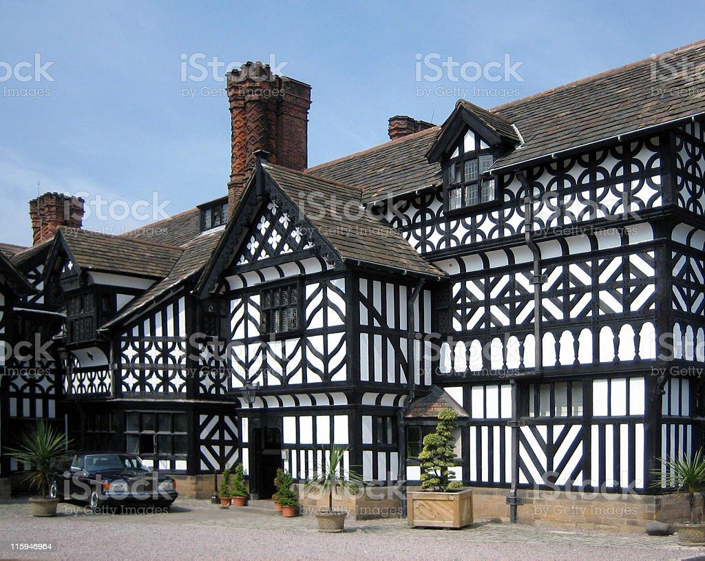 Tudor House stock photo