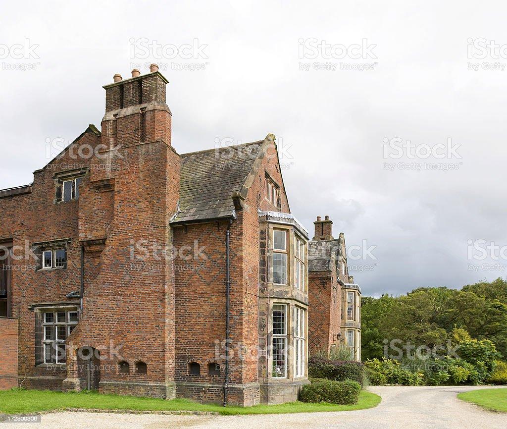 Tudor House royalty-free stock photo