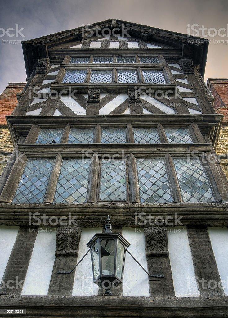 Tudor house, Shropshire stock photo