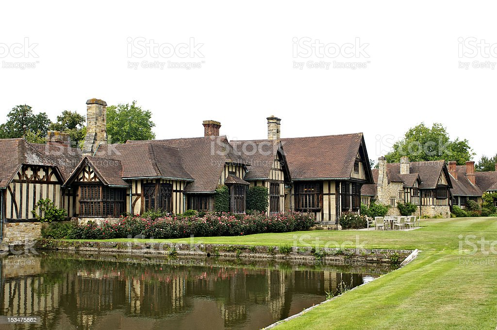 Tudor Houses stock photo