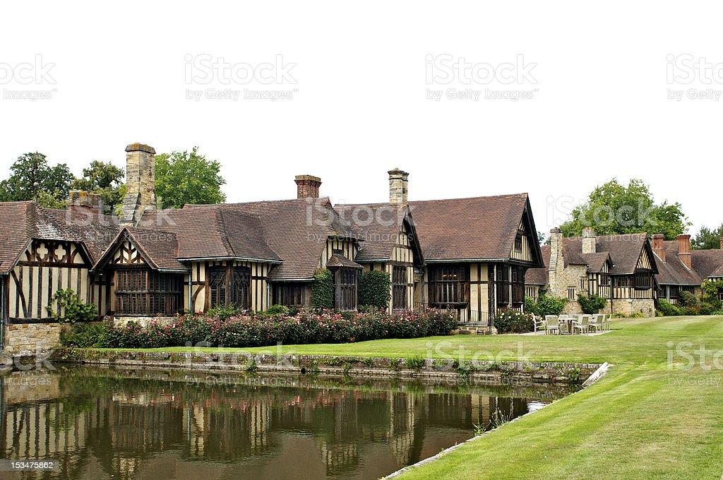Tudor Houses stock photo