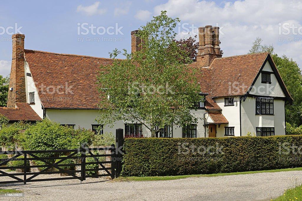 Tudor Manor royalty-free stock photo