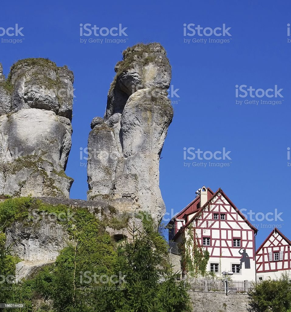 Tuechersfeld stock photo